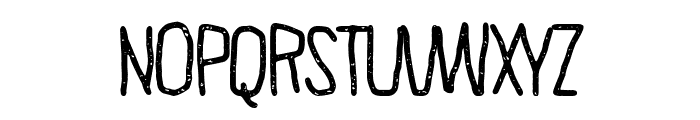 The Minima Font LOWERCASE