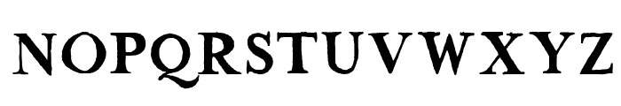 The Missus Hand Strong Font UPPERCASE