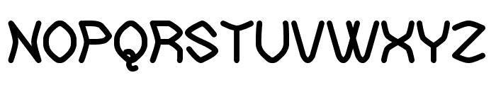The Neckbreaker St Font UPPERCASE