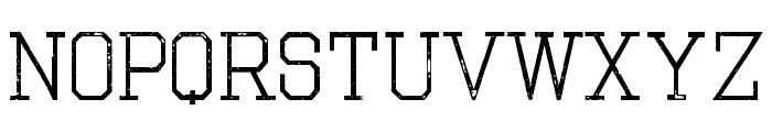 The Nest Font UPPERCASE