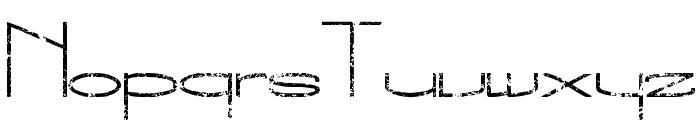 The New Metropolitan Font UPPERCASE