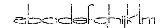 The New Metropolitan Font LOWERCASE