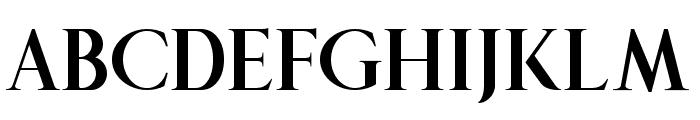 The Queen Regular Font UPPERCASE