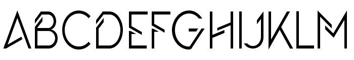 The Queen?s Gambit Regular Font UPPERCASE