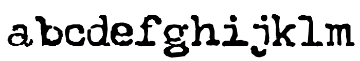 The Quest Normal Font LOWERCASE