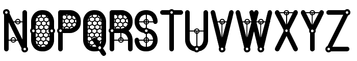 The Quick South St Font UPPERCASE