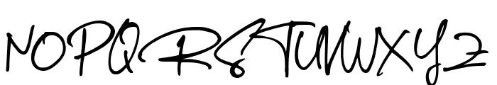 The Rambler Font UPPERCASE