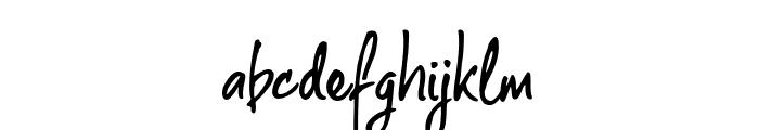 The Rambler Font LOWERCASE