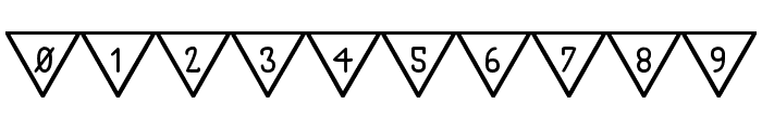 The South Flag St Font OTHER CHARS