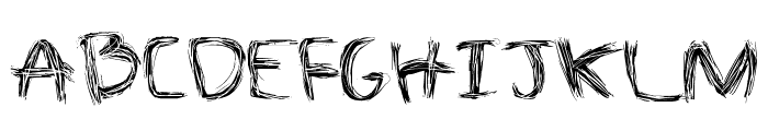 The Spaz Font UPPERCASE
