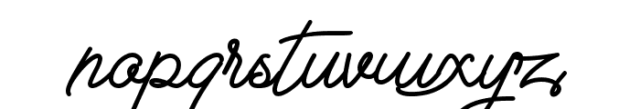 The Sweet Teddy Font LOWERCASE