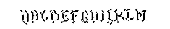 The Terriffic Kerganogggg... Regular Font UPPERCASE