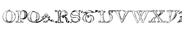 The Tomb [winter and spring] 1 Font UPPERCASE