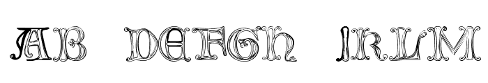 The Tomb [winter and spring] 1 Font LOWERCASE