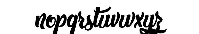 The West Gate Font LOWERCASE
