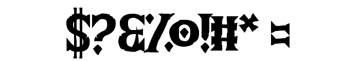 The Wild Breath of Zelda Font OTHER CHARS