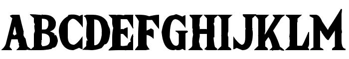 The Wild Breath of Zelda Font UPPERCASE
