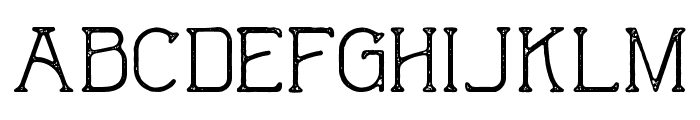 The Wild Hammers Demo Font UPPERCASE