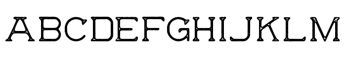 The Wild Hammers Demo Font LOWERCASE