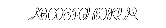 The Wizard Font UPPERCASE
