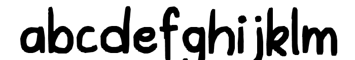 The first in a while Font LOWERCASE