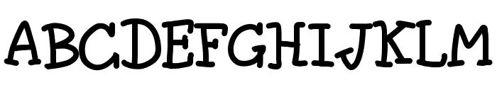 The fragile wind Font UPPERCASE