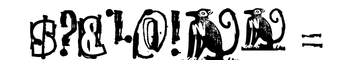 The quick monkey Font OTHER CHARS