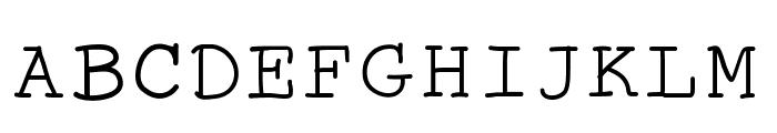 TheAntiType Font UPPERCASE