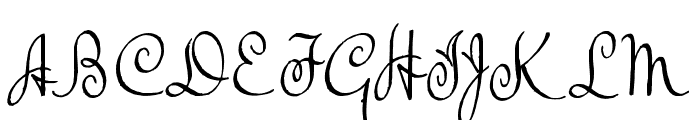 TheBeatGoesOn Font UPPERCASE