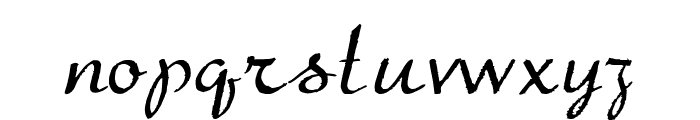 TheBeatGoesOn Font LOWERCASE