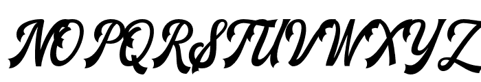 TheBlendhes-DemoVersion Font UPPERCASE
