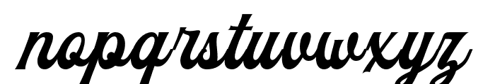 TheBlendhes-DemoVersion Font LOWERCASE