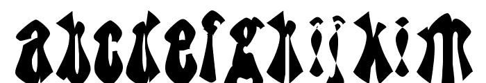 TheBlueJoker Font LOWERCASE