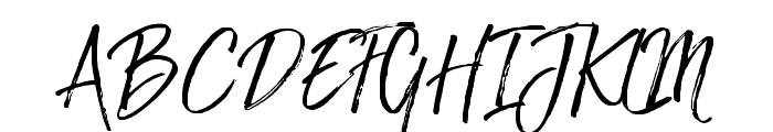 TheBraggest-Demo Font UPPERCASE