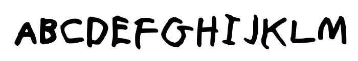 TheChristopherHarvey Medium Font UPPERCASE