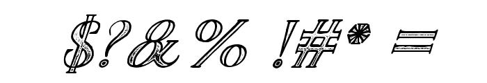 TheDarkTitanClassicitalic Font OTHER CHARS