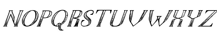 TheDarkTitanClassicitalic Font UPPERCASE