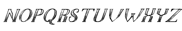 TheDarkTitanClassicitalic Font LOWERCASE