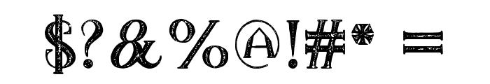 TheDarkTitanVintage Font OTHER CHARS
