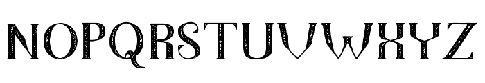 TheDarkTitanVintage Font UPPERCASE