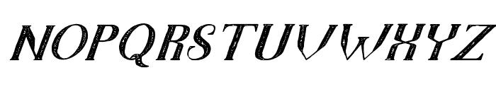 TheDarkTitanVintageItalic Font LOWERCASE
