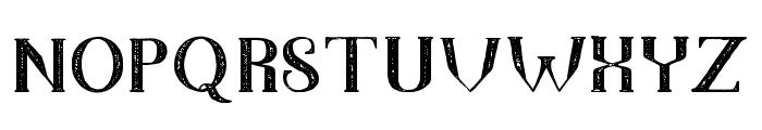 TheDarkTitanVintage Font LOWERCASE
