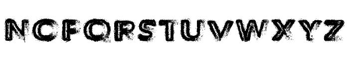 TheDecompozed-Regular Font UPPERCASE