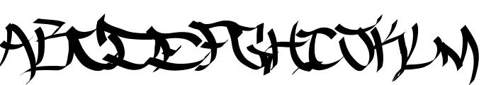 TheFiveOneTwo Font LOWERCASE