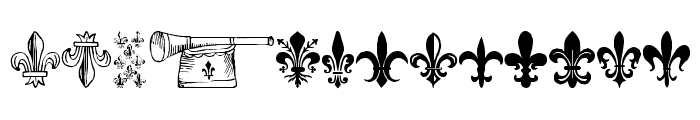 TheFrench Font UPPERCASE