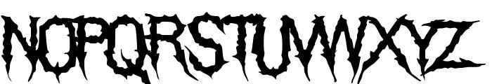 TheGrimRaiders-Regular Font LOWERCASE