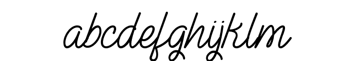 TheIllusionofBeauty Font LOWERCASE