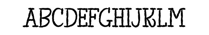 TheKingofLostTowel Font LOWERCASE