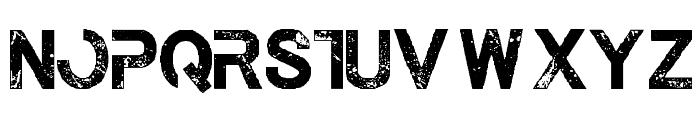TheLastCall-Regular Font UPPERCASE
