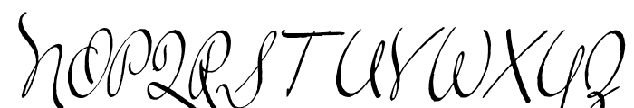 TheLoyalist Font UPPERCASE